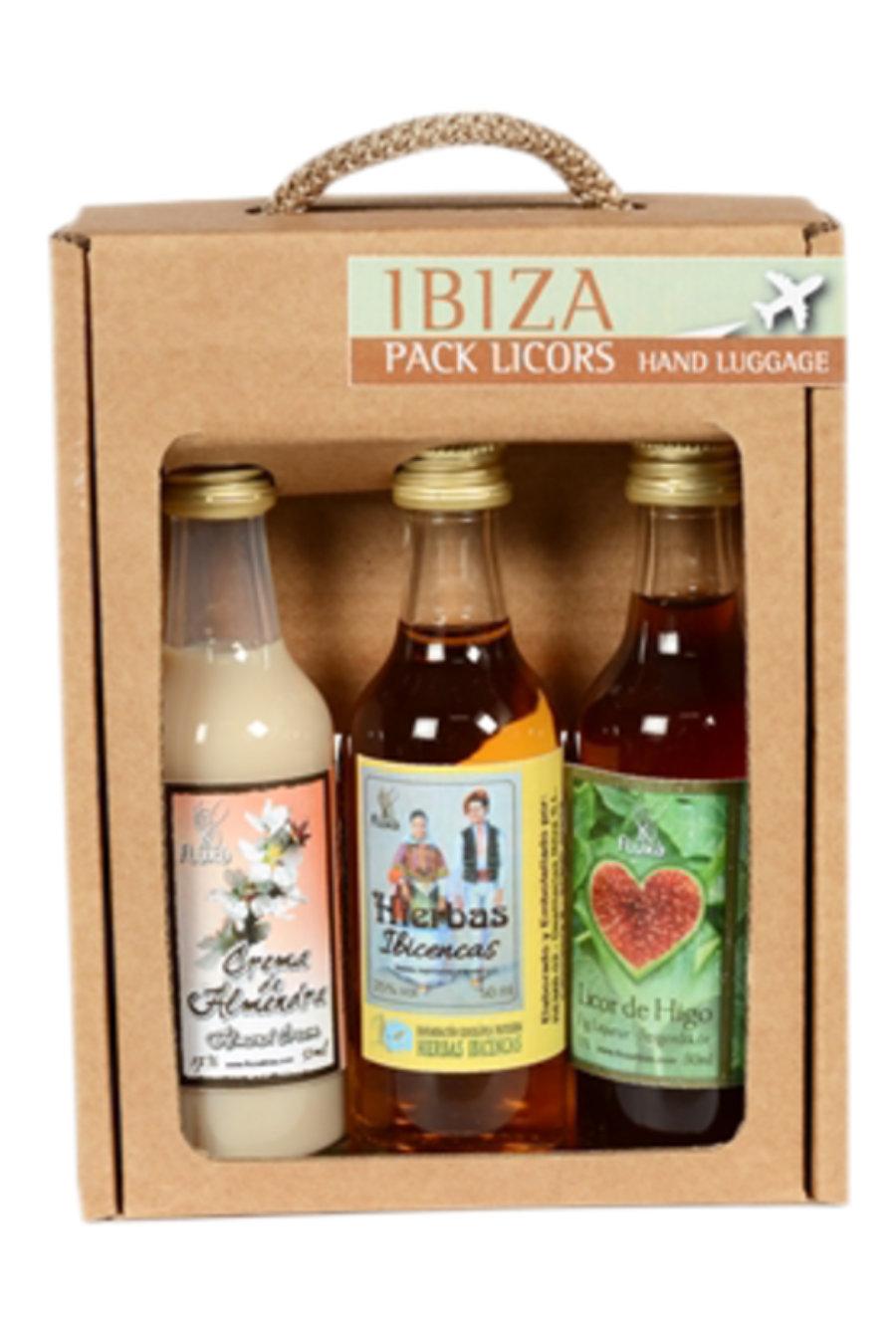 Pack de 3 licores de viaje