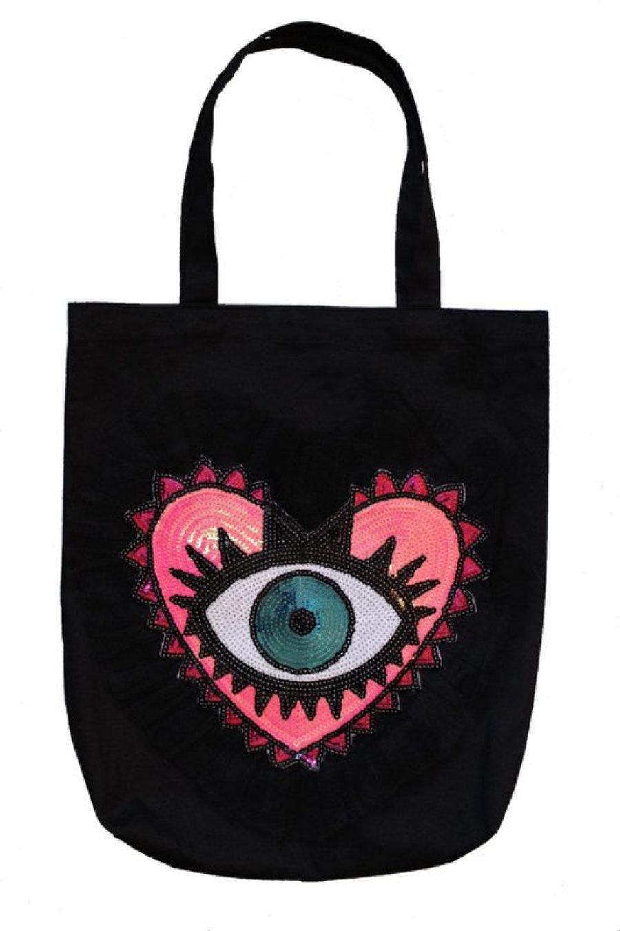 Tote bag eye