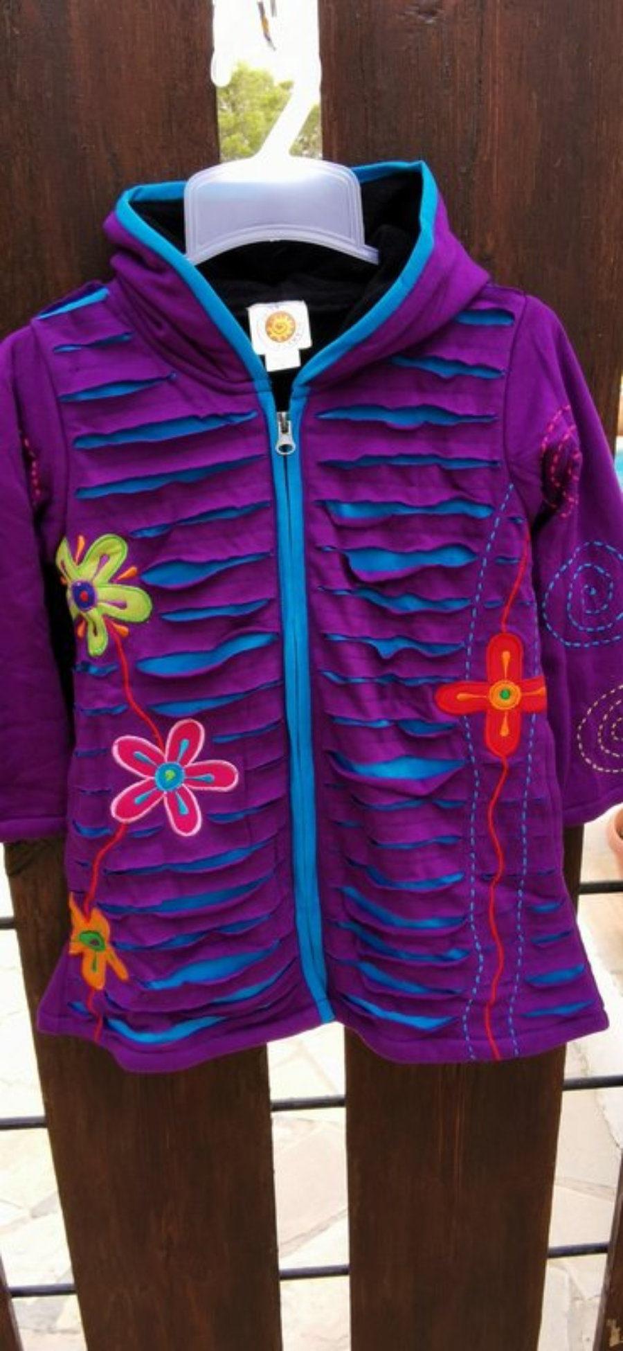 abrigo hippy chic