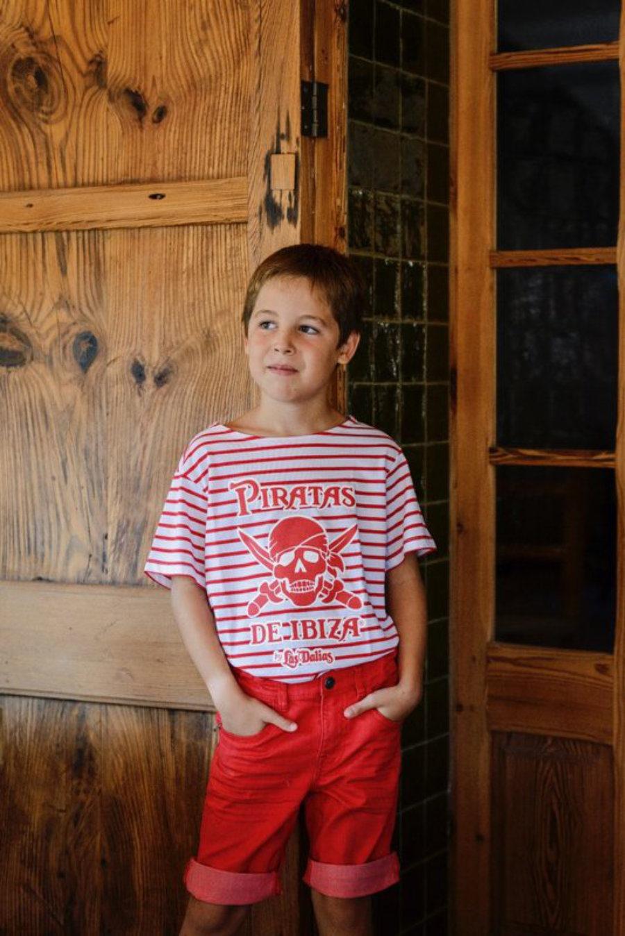 Camiseta Pirata Rayas
