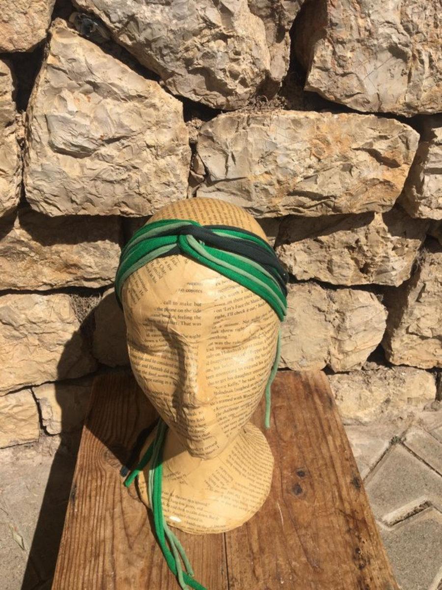Turbante De Varios Verdes
