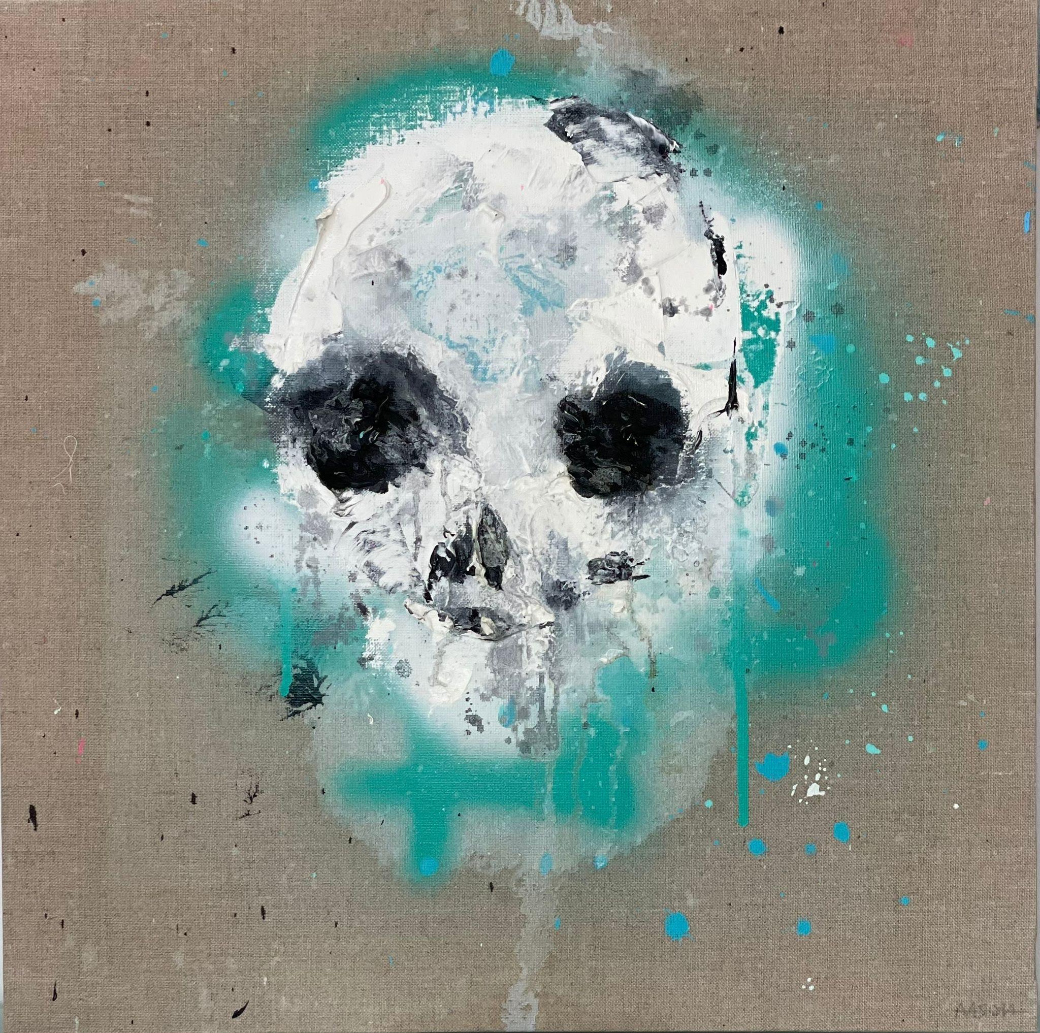 Skull Óleo
